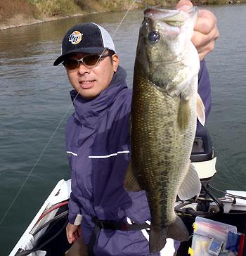 今日のゲスト N崎さんがキャッチしたGOODサイズ