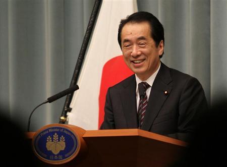 不信任案否決の後の会見 総理の顔