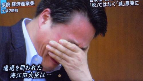 思わず泣いちゃう大臣3