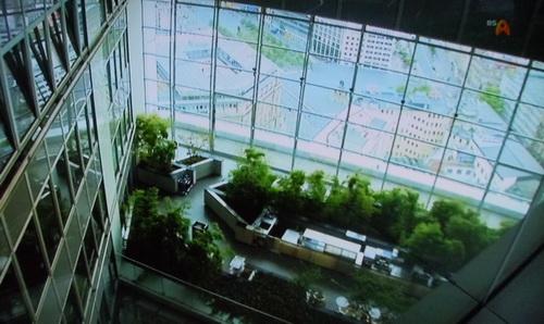 ビルの緑化は義務