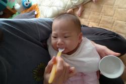 初離乳食2