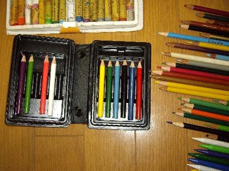 色鉛筆等001