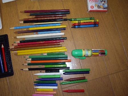 色鉛筆等002