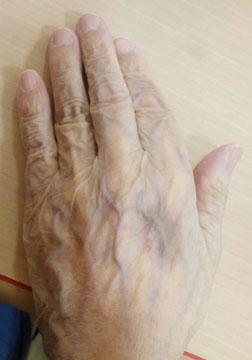 おばあちゃんの手1