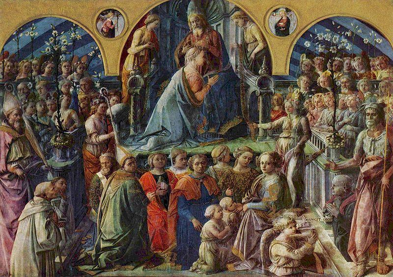 フィリッポ聖母戴冠全体図