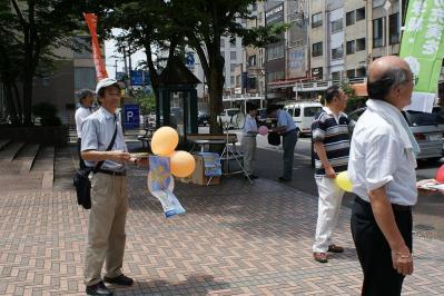 20110709教育署名街頭署名