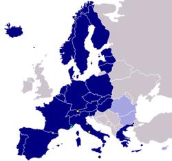 シェンゲン加盟国