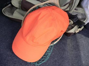 モンベルの帽子