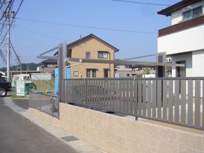 フェンス 南側2