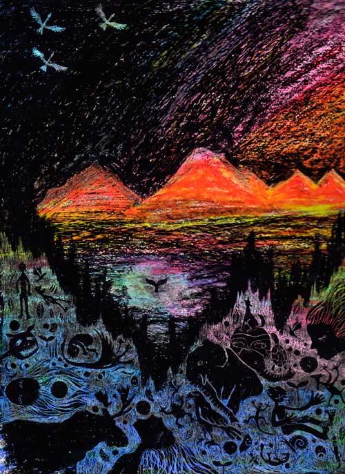 アラスカの風景