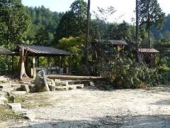 キャンプ場の広場