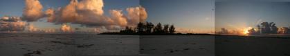 bird island sunset