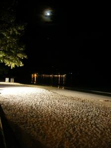 night of the beau vallon beach
