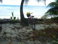 bycycle and beach