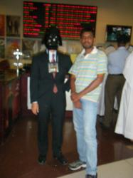 vader with indian A