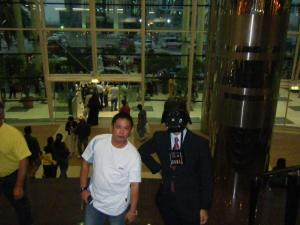 vader with noel at csd
