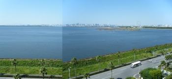 tokyo bay from desney hotel