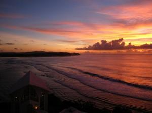 tamon bay guam sunset 200910