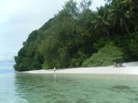 Palau Rock Island Beach 1