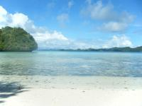 Palau Rock Island Beach 3