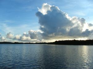 Palau new year sunrise