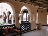 sharq village and spa hallway