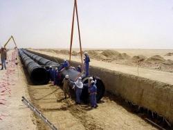 pipe laying work in abu dhabi