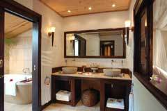 desroches room inside bathroom