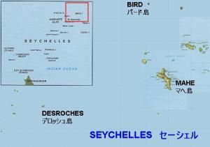 seychelles island map