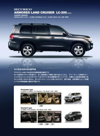 Armored Land Cruiser