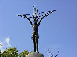 広島 平和記念公園 「原爆の子の像」(佐々木禎子の像)