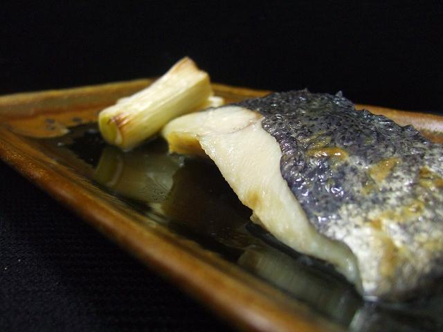 目鯛の塩焼き