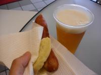 チョリソー&ビール