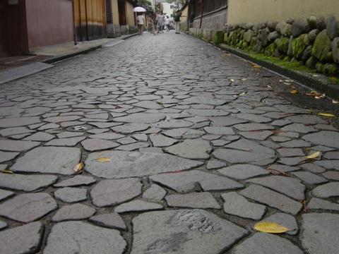 長町の石畳(2009.08.10)