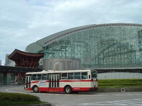 金沢駅前(2009.08.12)