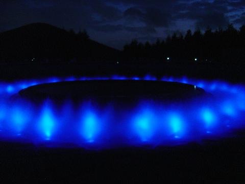 青い噴水(2009.08.15)