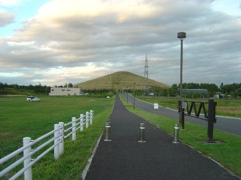 モエレ山を望む(2009.08.22)