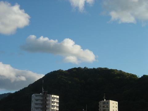 円山の空(2009.09.26)
