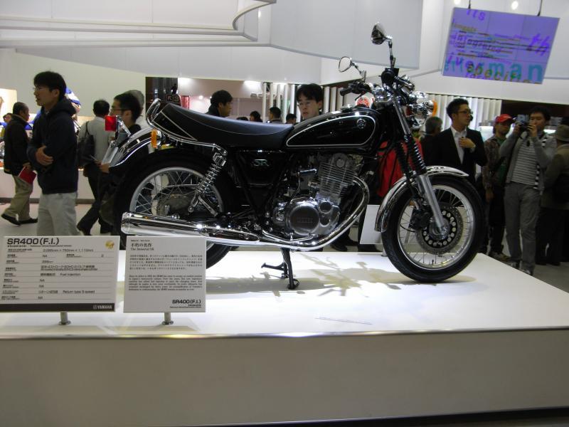 名車SR400復活モデル渋いね~