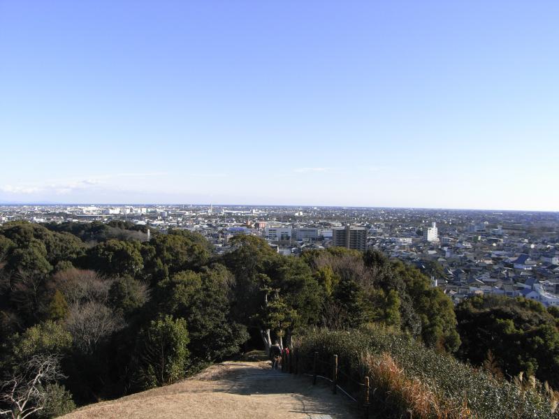 高台からは藤枝市全域と駿河湾が望めますw