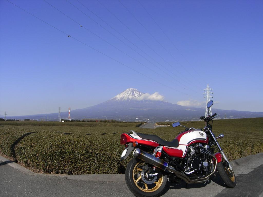 拓けた場所は富士山のシンメトリーが映えますw