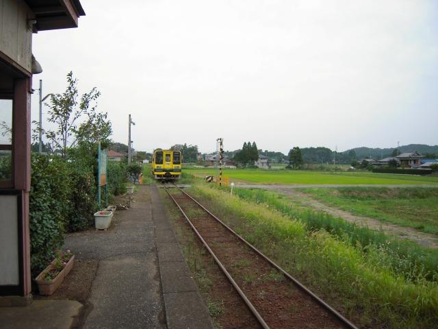 新田野駅で途中下車