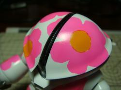 蛍光ピンク塗った2