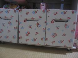 シルク カラーボックス用箱3つ