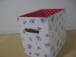 シルク カラーボックス用箱1つ