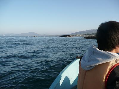 あまりボートが出ていなかった。