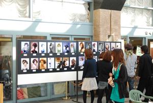 ヘアコミュフォトコン写真展 in Libra