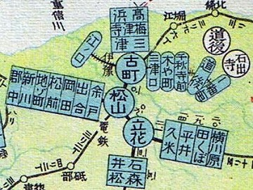 高浜隧道地図