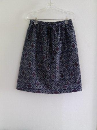 藍大島オーバースカート