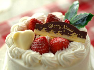 カフェーパウゼのクリスマスケーキ